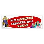 All My Concubines Sticker (Bumper 50 pk)