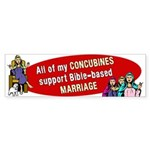 All My Concubines Sticker (Bumper)