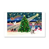 Xmas Magic & Dalmation Car Magnet 20 x 12