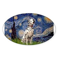 Starry Night & Dalmatian Decal
