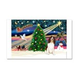 Xmas Magic & Eng Spring Span Car Magnet 20 x 1