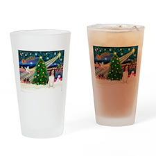 Xmas Magic & Eng Spring Span Drinking Glass