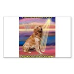 Blessed Golden Sticker (Rectangle 10 pk)