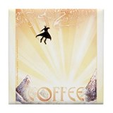 COFFEE Tile Coaster
