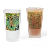 Lakeland T. & Irises Drinking Glass