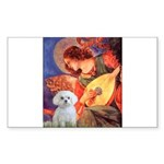 Mandolin Angel / Maltese Sticker (Rectangle 10 pk)