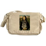 Mona & Norweign Elkhound Messenger Bag