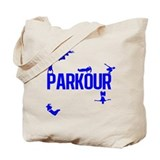 Parkour Crew (Blue) Tote Bag