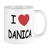 I heart Danica Coffee Mug