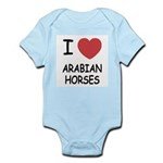 I heart arabian horses Infant Bodysuit