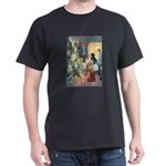 Christmas Tree Fairies Dark T-Shirt