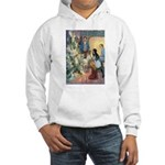 Christmas Tree Fairies Hooded Sweatshirt