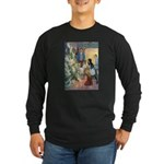 Christmas Tree Fairies Long Sleeve Dark T-Shirt