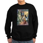 Christmas Tree Fairies Sweatshirt (dark)