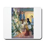 Christmas Tree Fairies Mousepad