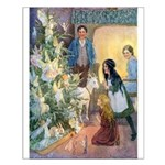 Christmas Tree Fairies Small Poster