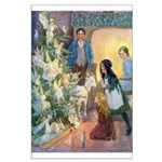 Christmas Tree Fairies Large Poster