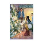 Christmas Tree Fairies Mini Poster Print