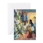 Christmas Tree Fairies Greeting Cards (Pk of 20)