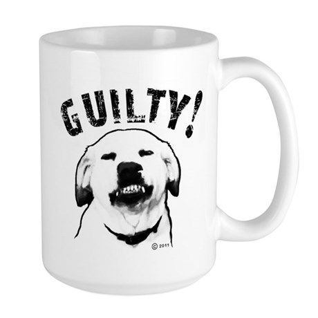 Guilty! Large Mug