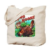 King Moose Cigar Label Tote Bag