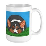 Tri Colored Corgi Mug