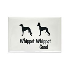 Whippet Good Rectangle Magnet