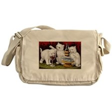 The Three Kittens Messenger Bag