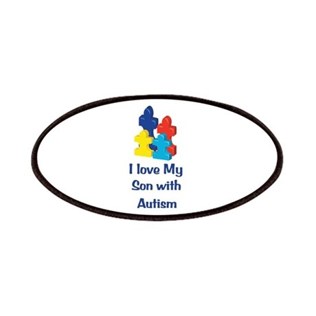 Love Autism Son Patches