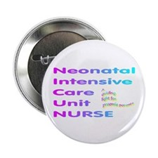 "preemie NICU nurse 2.25"" Button (10 pack)"
