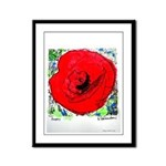 Poppy Framed Panel Print
