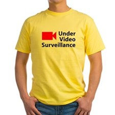 Under Video Surveillance T