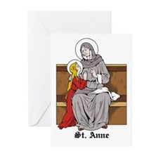 St. Anne Greeting Cards (Pk of 10)