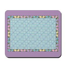 Vintage Bouquet Mousepad.9.5X8