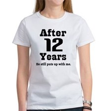 12th Anniversary Funny Quote Tee