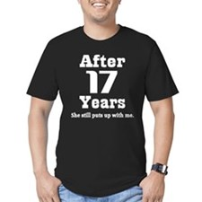 17th Anniversary Funny Quote T