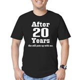 20th Anniversary Funny Quote  T