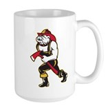 bulldog fireman firefighter Mug