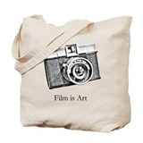 Diana Camera - Film is Art Tote Bag