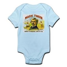 Mark Twain Cigar Label Infant Bodysuit