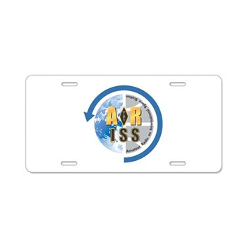 ARISS Aluminum License Plate
