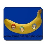 Mousepad featuring Banana Triangle cast
