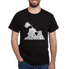 Raising The Flag, Iwo Jima T-Shirt