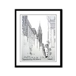 Chrysler Building Framed Panel Print