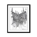 Cathedral Framed Panel Print