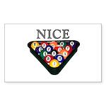 Nice Rack Sticker (Rectangle 10 pk)