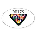 Nice Rack Sticker (Oval 50 pk)