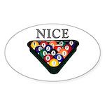 Nice Rack Sticker (Oval 10 pk)
