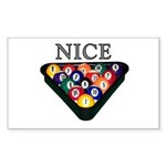 Nice Rack Sticker (Rectangle)