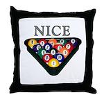 Nice Rack Throw Pillow